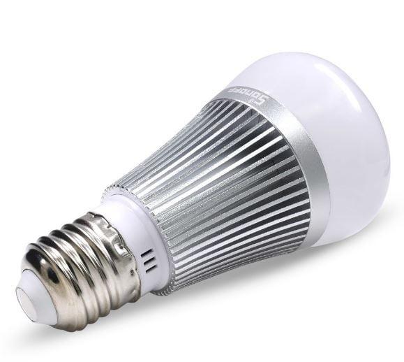 Sonoff | B1 | Dimbare RGB LED | E27 Zilver