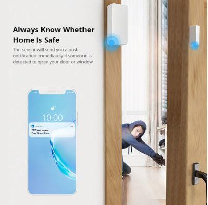 Sonoff | DW2 | WIFI | Deur en raam sensor