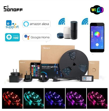 Sonoff | L1 | Bande LED RGB dimmable | 5 Mètres