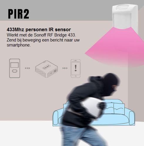 Sonoff | PIR2 | Bewegingsensor