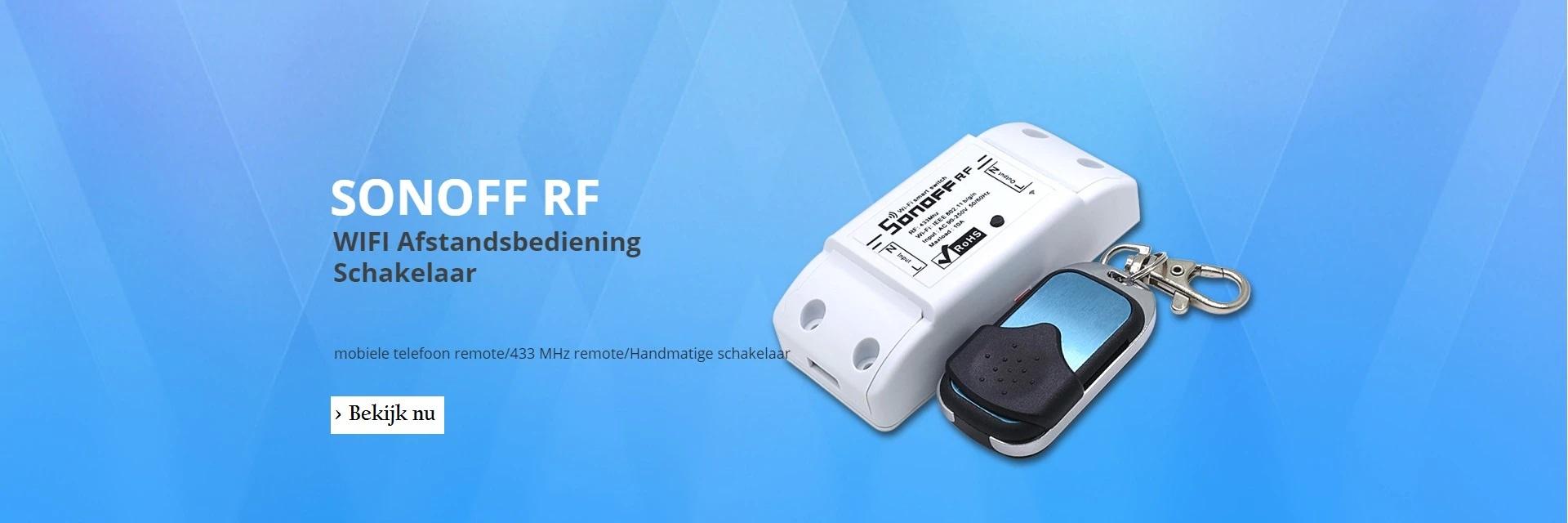 Sonoff | RF | Wifi | 433Mhz
