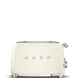 Smeg broodrooster 4x4 creme