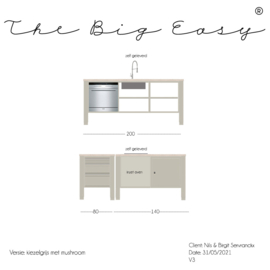 The Big Easy keuken 21/219