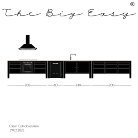 The Big Easy kitchen TBE 20/178-3
