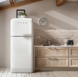 Smeg FAB50LCR extra grote koelkast met vriezer