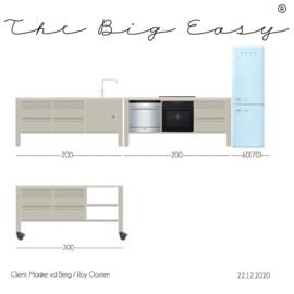 The Big Easy Kitchen TBE 20/170-3