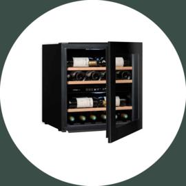 AVINTAGE wijnklimaatkast greeploos (Push to Open)