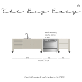 TBE 20/233A The Big Easy kitchen