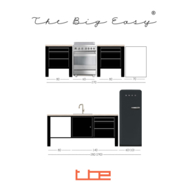 The Big Easy keuken 20/244