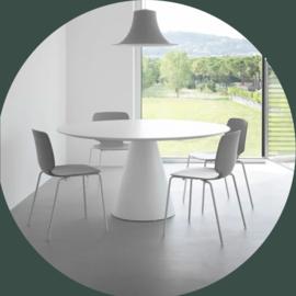 Ronde tafel ICON ø 160 cm wit