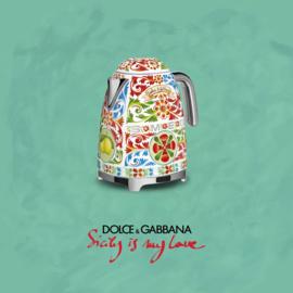 Smeg Dolce & Gabbana WATERKOKER