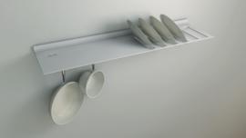 Wandplank voor borden
