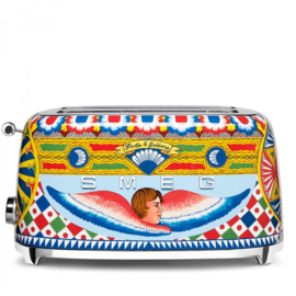 Smeg Dolce & Gabbana BROODROOSTER 2x4