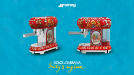 Smeg Dolce & Gabbana ESPRESSOMACHINE