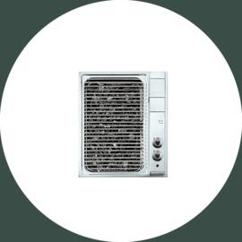 FLIP-UP Elektrisch grill F 530 / GE