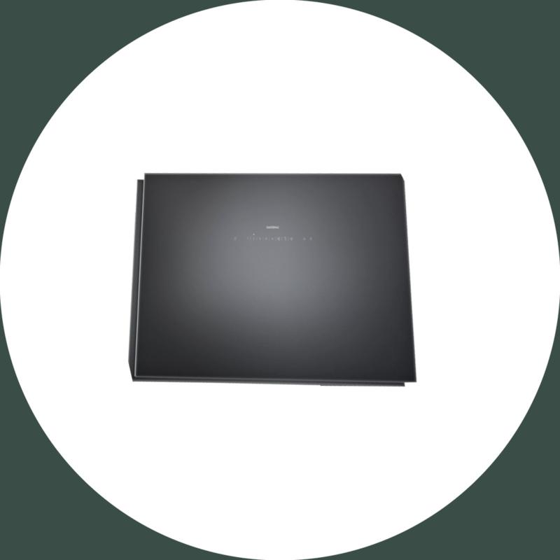 Wandschouwkap 200 serie -90 cm- AW250