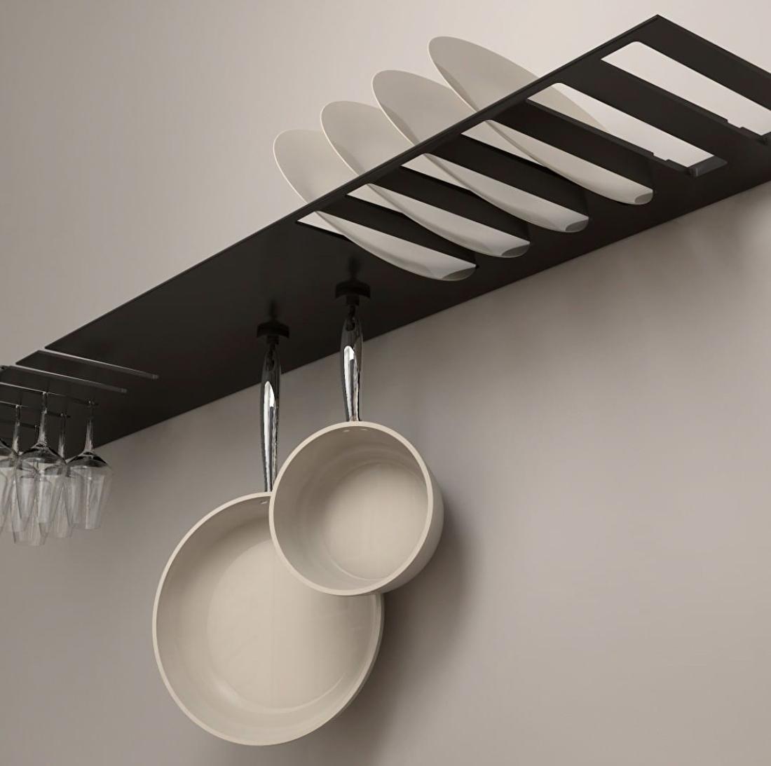 Strackk keuken wandplank the big easy kitchen