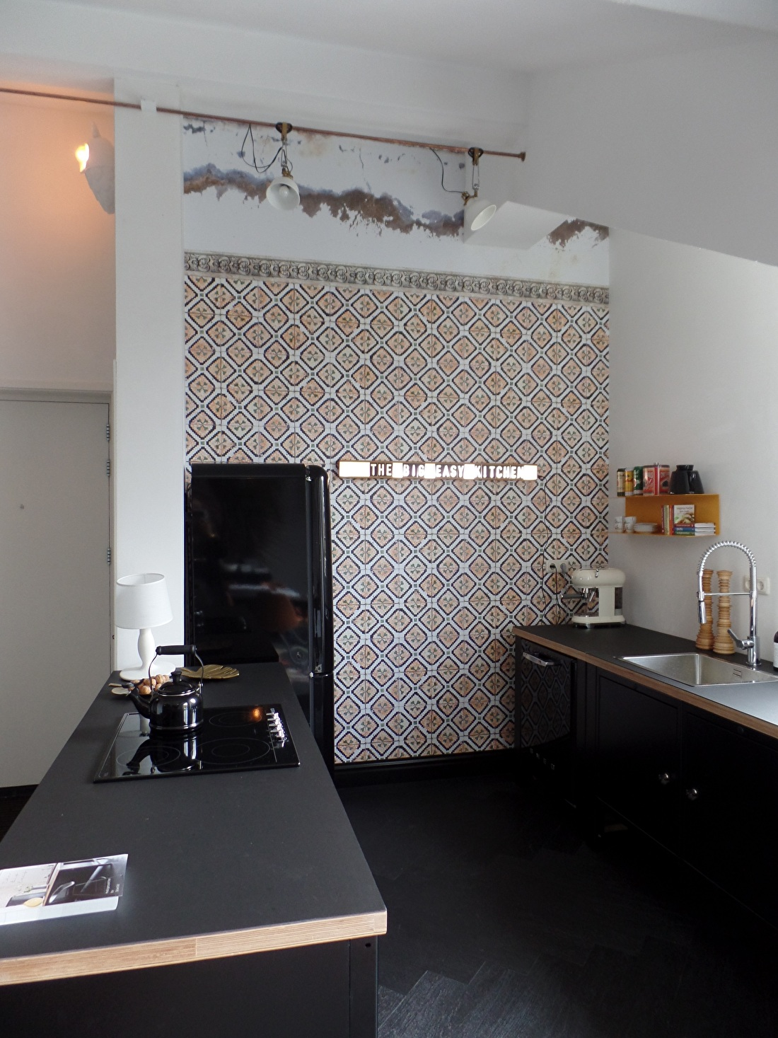 the big easy modular kitchen eiland behangfabriek