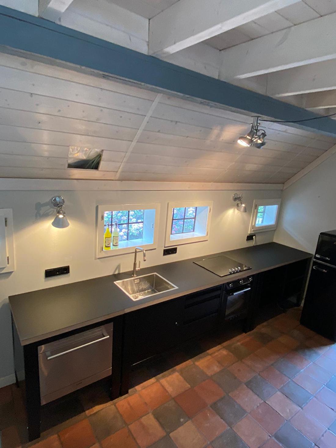 big easy modular kitchen black siemens smeg