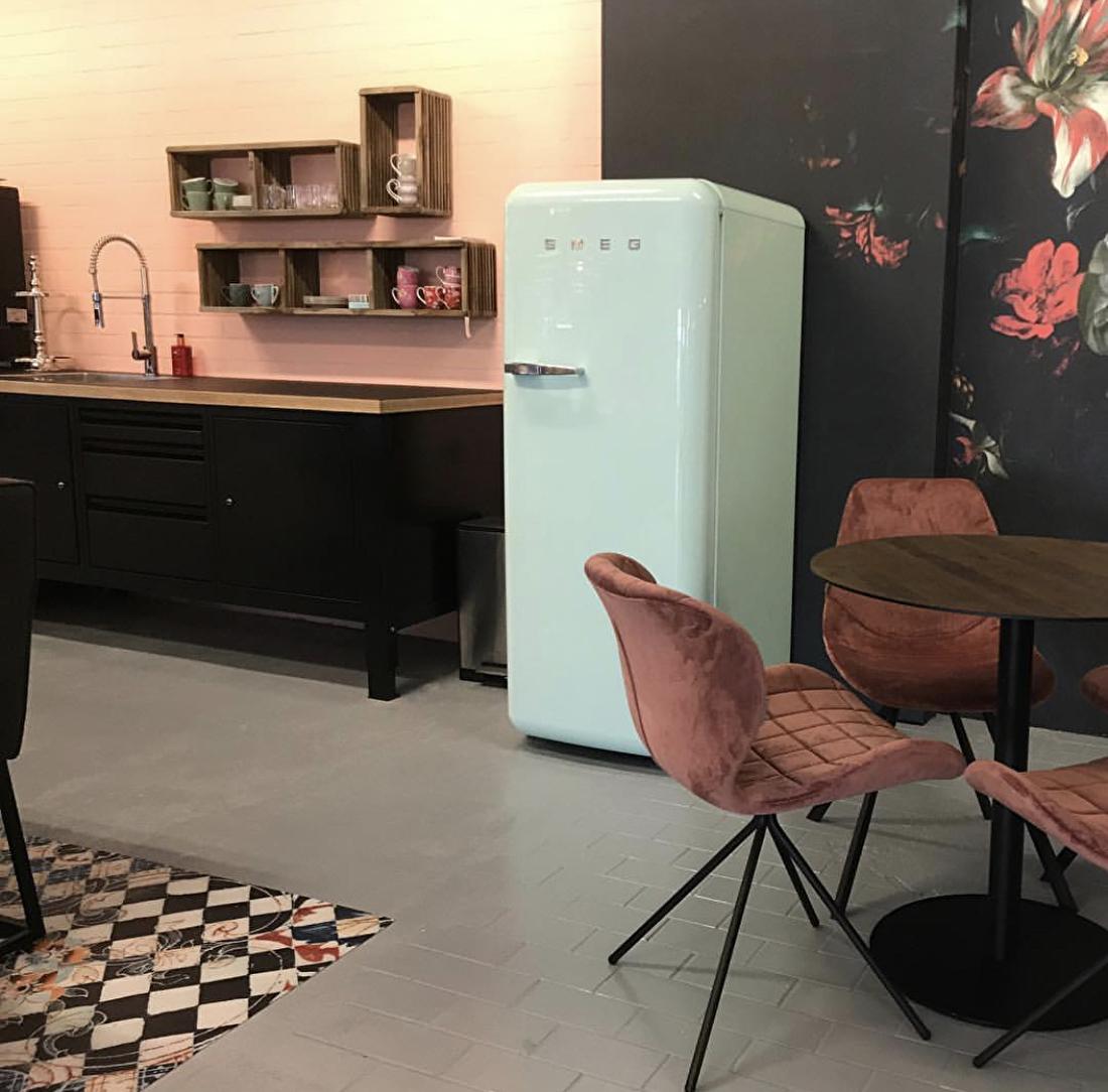 big easy module keuken smeg koelkast