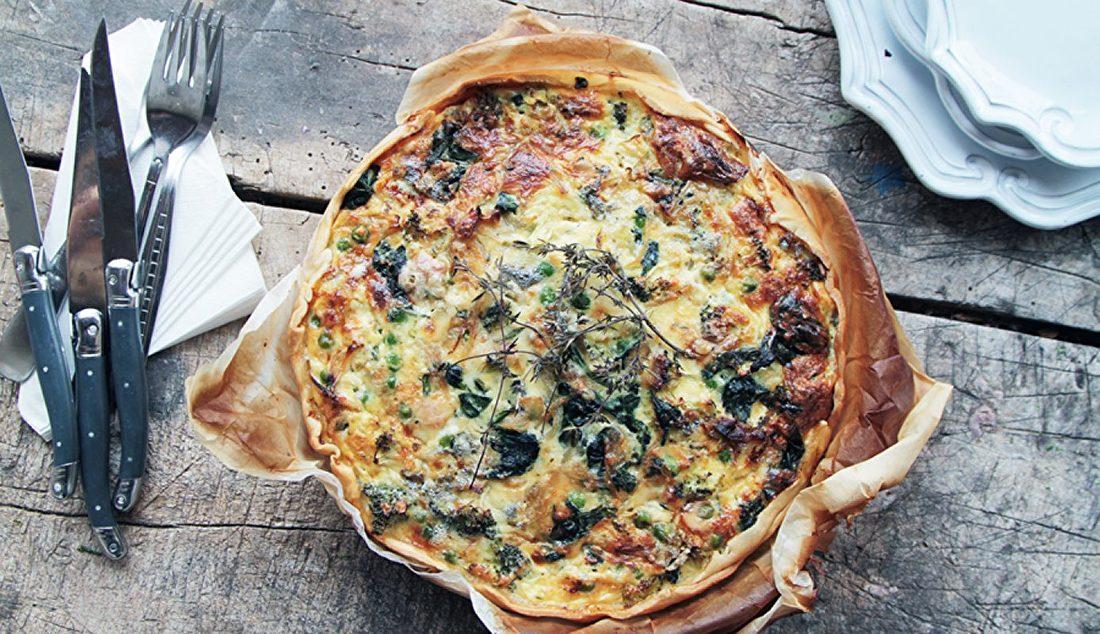 recept vegetarische groentetaart the big easy keuken
