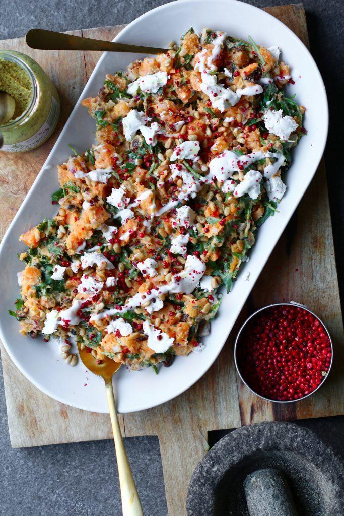 zoete aardappelsalade recept big easy kitchen
