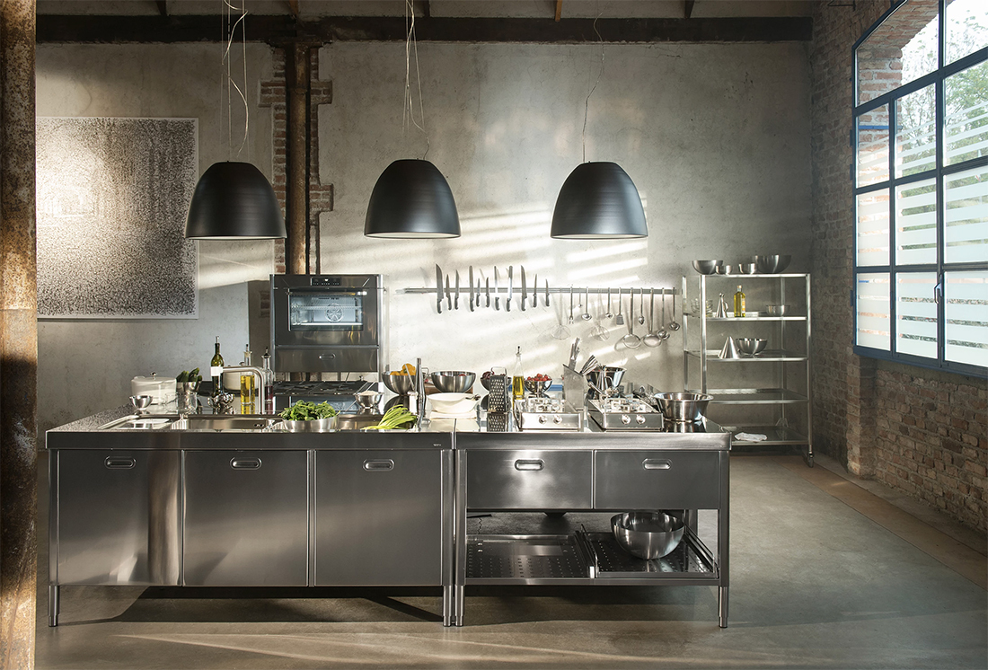 alpes inox rvs modular kitchen loft the big easy
