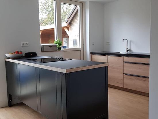 the big easy modulaire keuken schiereiland achterkant