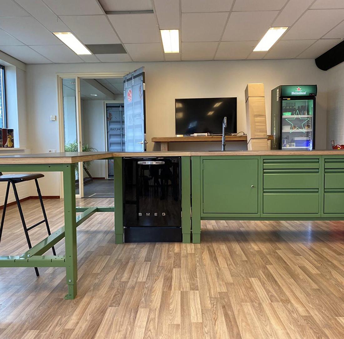 the big easy industriele keuken modulair