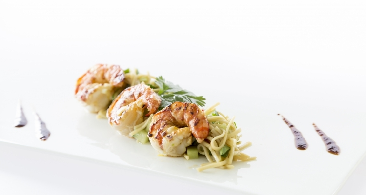 recept scampi plancha the big easy buitenkeuken