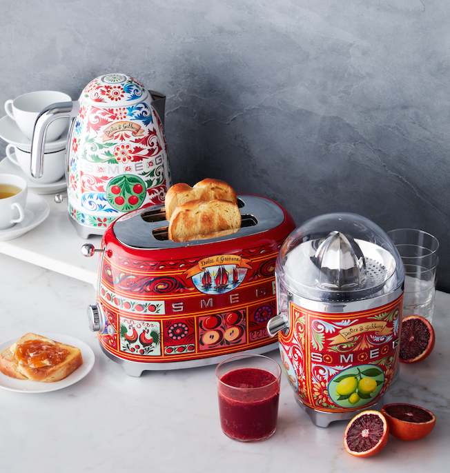 smeg dolce gabbana design the big easy