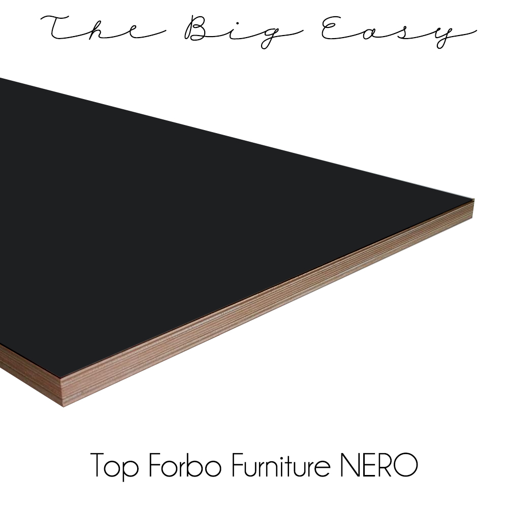 the big easy modular kitchen top forbo nero