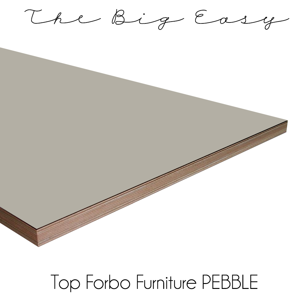 the big easy keukenblad forbo furniture pebble
