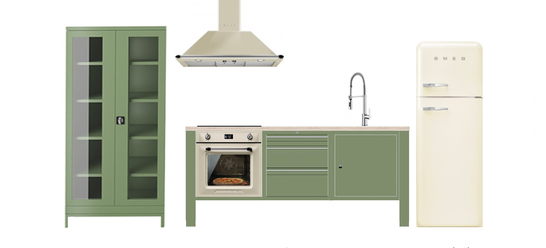 the big easy modular kitchen concept