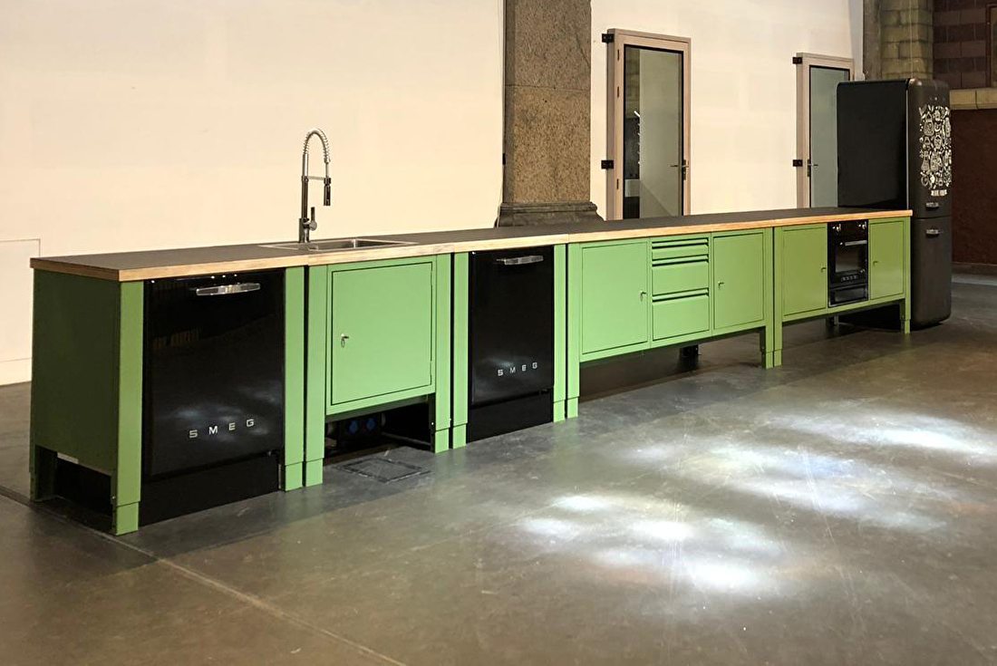 modular kitchen the big easy industrial church