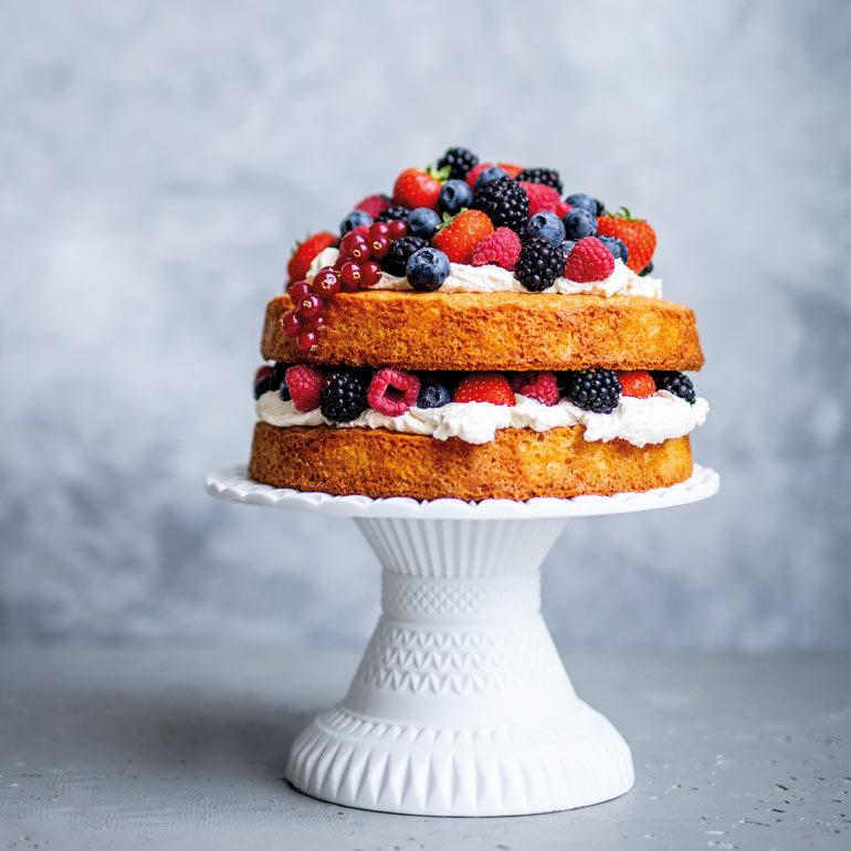 recept victoria sponge cake