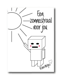 Een zonnestraal voor jou