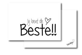 Jij bent de beste