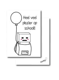 Heel veel plezier op school!