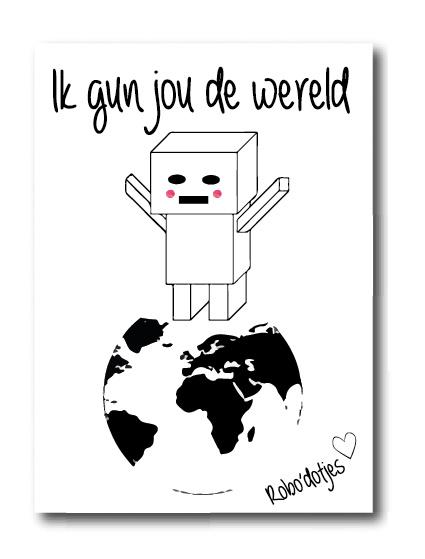 Ik gun jou de wereld