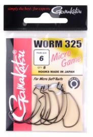 Gamakatsu worm 325 haak 6