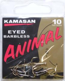 Kamasan Animal eyed barbless 10st haken