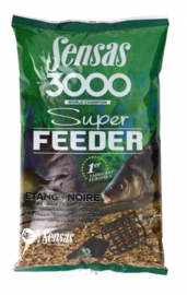 Sensas 3000 super feeder lake black 1kg