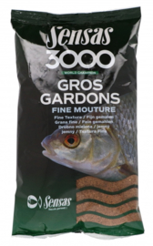Sensas 3000 gros gardons fine mouture 1kg