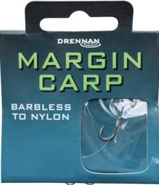 Drennan margin carp barbless  onderlijn 20cm 8st