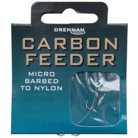 Drennan carbon feeder onderlijn 35cm 8st