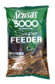 Sensas 3000 super feeder riviere 1kg
