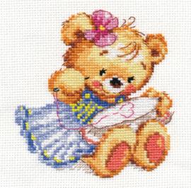 Borduurpakket I love to embroider! - Alisa