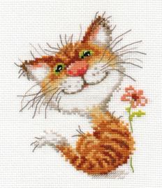 Borduurpakket Pussycat - Alisa