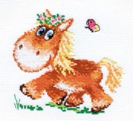 Borduurpakket Little Horse - Alisa